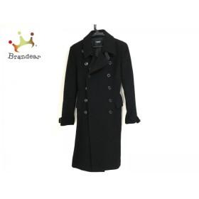 リトルニューヨーク LittleNewYork コート サイズ6 M レディース 黒 collection/冬物   スペシャル特価 20190302