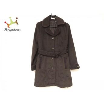 アクシーズファム axes femme コート サイズM レディース 美品 ブラウン 冬物/レース スペシャル特価 20190222