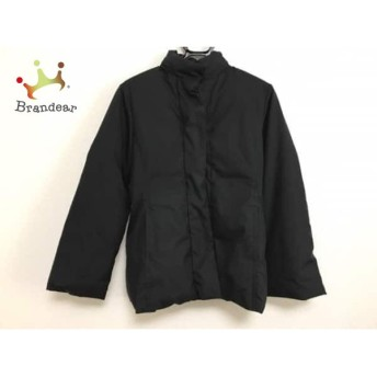 ニジュウサンク 23区 ダウンジャケット サイズ38 M レディース 黒 冬物 値下げ 20190601