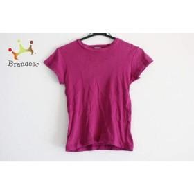アニエスベー agnes b 半袖Tシャツ サイズ1 S レディース パープル           スペシャル特価 20190503