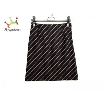 トゥモローランド TOMORROWLAND スカート サイズ36 S レディース ダークネイビー×ボルドー×白 スペシャル特価 20190311