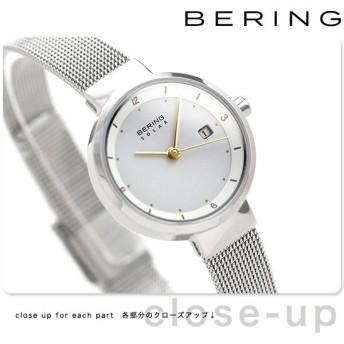 ベーリング 時計 ソーラー 26mm レディース 14426-001 BERING 腕時計 ホワイト