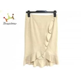 ピンキー&ダイアン Pinky&Dianne スカート サイズ36 S レディース 美品 ベージュ フリル         スペシャル特価 20191008