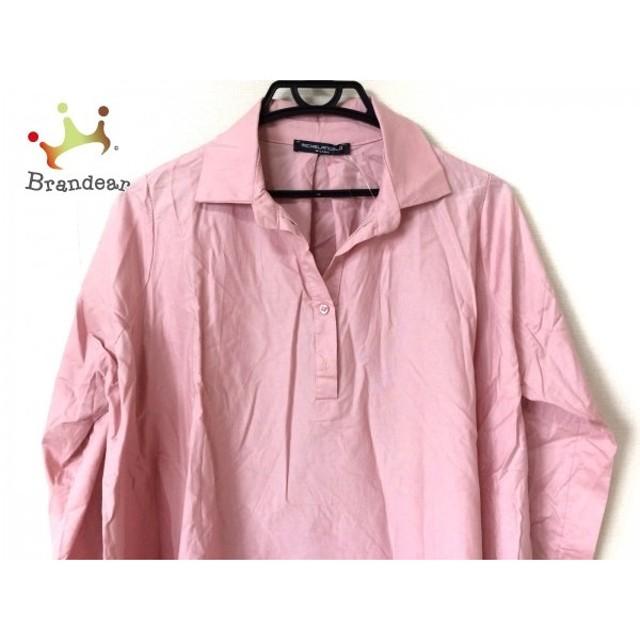 ミケランジェロ MICHELANGELO ワンピース サイズL レディース 美品 ピンク シャツワンピ    スペシャル特価 20191003