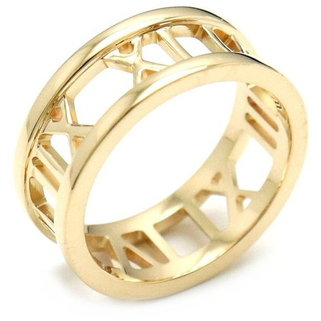34b646284d8f ジュエリー)TIFFANY&Co. ティファニー アトラス リング 指輪 ...