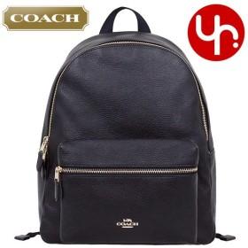 コーチ COACH バッグ リュック F29004 ブラック チャーリー ペブルド レザー バックパック アウトレット レディース