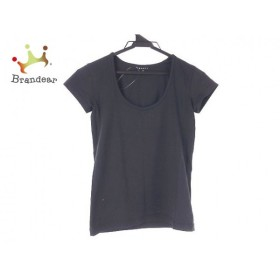 セオリー theory 半袖Tシャツ サイズ2 S レディース 黒         スペシャル特価 20190502