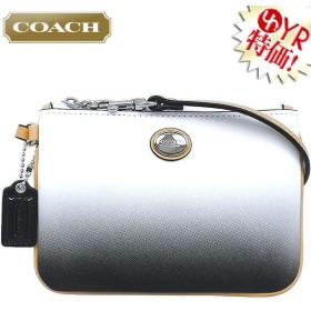 コーチ COACH 小物 ポーチ F51595 チャコール ペイトン グラデーション スモール リストレット アウトレット レディース