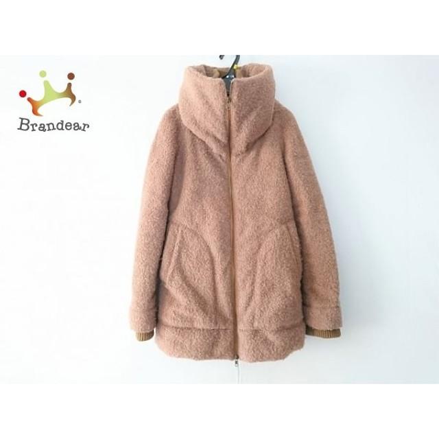リエンダ rienda コート サイズM レディース 美品 ブラウン ジップアップ/冬物  値下げ 20190602