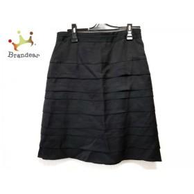 ニジュウサンク 23区 スカート サイズ40 M レディース 黒             スペシャル特価 20190523