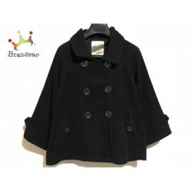 ブージュルード Bou Jeloud コート サイズ38 M レディース 黒 冬物/ショート丈            値下げ 20190315