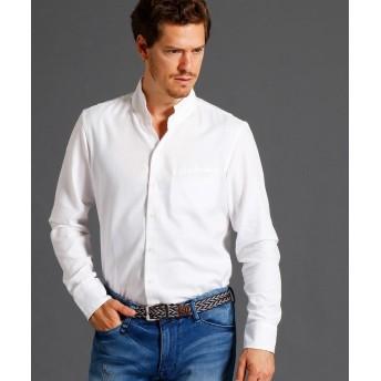 ムッシュニコル スタンドカラーシャツ メンズ 09ホワイト 46(M) 【MONSIEUR NICOLE】