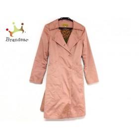 ホコモモラ JOCOMOMOLA コート サイズ42 L レディース ライトブラウン 冬物     スペシャル特価 20190208