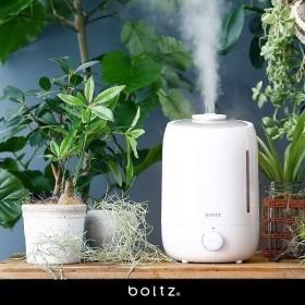 加湿器 超音波 加湿 約4.9L 洋室8畳 静音 人気 オフィス 節電 LED 省エネ おしゃれ 卓上 手入れ簡単 デスク ロウヤ LOWYA