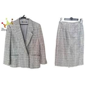 ブルックスブラザーズ スカートスーツ サイズ11AR M レディース 黒×ベージュ×マルチ  スペシャル特価 20190906