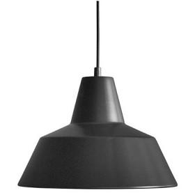増税前に使える1,000円OFFクーポン|ペンダント照明|メイド・バイ・ハンド「The work shop lamp」 L / ブラック