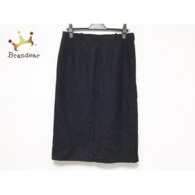 レリアン Leilian ロングスカート サイズ13+ S レディース 黒           スペシャル特価 20190517