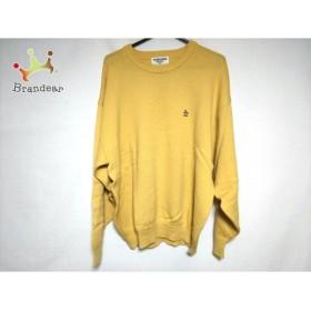 マンシングウェア Munsingwear 長袖セーター メンズ イエロー         スペシャル特価 20190220