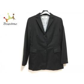 ニジュウサンク 23区 ジャケット サイズ36 S レディース ダークグレー 肩パッド           スペシャル特価 20190123