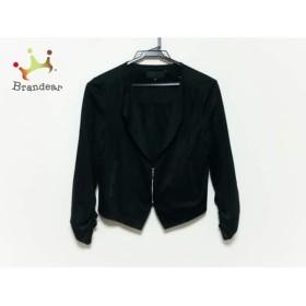 アンタイトル UNTITLED ジャケット サイズ2 M レディース 美品 黒                 スペシャル特価 20191015