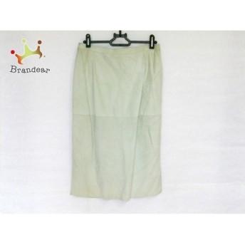 ジェニー GENNY スカート サイズ42(I) M レディース ライトグリーン スペシャル特価 20190418