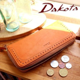 【Wプレゼント付】ダコタ Dakota  アペーゴ ラウンドファスナー 長財布 35271 プレゼント 女性 男性