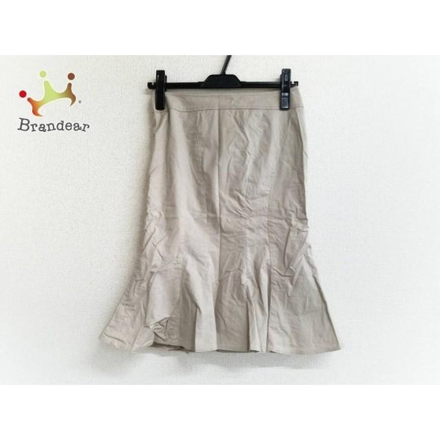 マテリア MATERIA スカート サイズ34 S レディース 美品 ベージュ               スペシャル特価 20190328