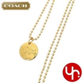3089a9dd5315 コーチ COACH アクセサリー ネックレス F90557 ゴールド ホース アンド キャリッジ ネックレス (ボックス付き) アウトレット レディース