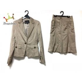 クードシャンス CdeC COUP DE CHANCE スカートスーツ サイズ36 S レディース ベージュ       スペシャル特価 20190403