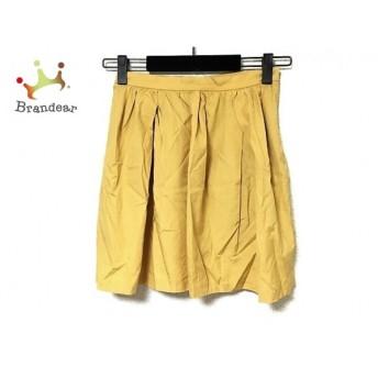 トゥモローランド TOMORROWLAND スカート サイズ38 M レディース マスタード スペシャル特価 20190401
