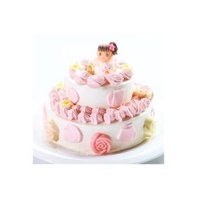 2段苺デコレーション5号×7号・バースデーケーキ・ウェディングケーキ・お祝いのギフト:送料無料