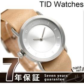 TID watches ティッドウォッチ 時計 36mm No.1 レザー TID01-36 SV/N