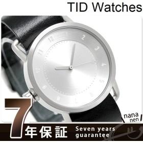 TID watches ティッドウォッチ 時計 40mm No.1 レザー TID01-SV/BK