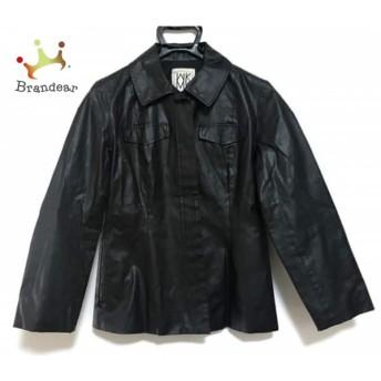 ミッシェルクラン MICHELKLEIN ジャケット サイズ38 M レディース 黒 スペシャル特価 20190820