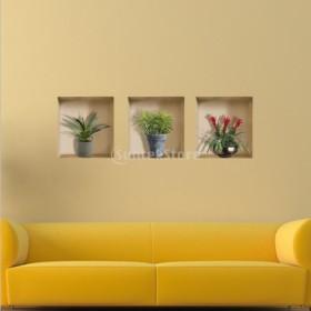 Fenteer DIY PVC ホーム壁画 部屋 壁装飾 ウォールステッカー 5タイプ選べる  - A