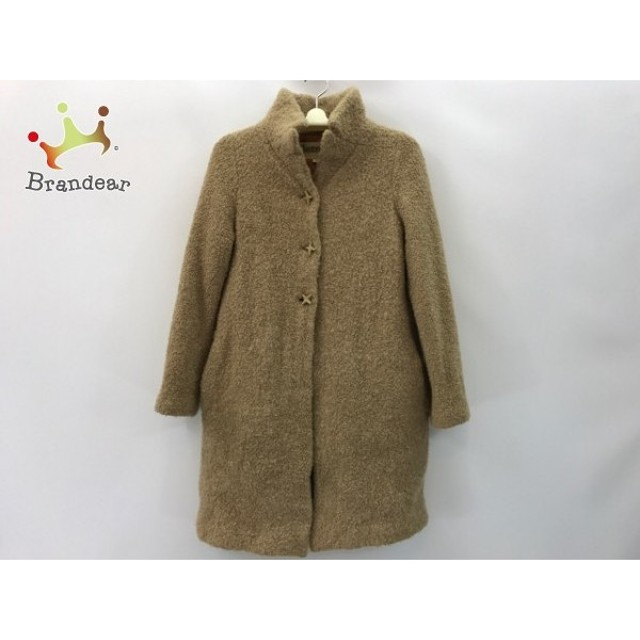 ホコモモラ JOCOMOMOLA コート サイズ40 XL レディース ライトブラウン 冬物               スペシャル特価 20191005