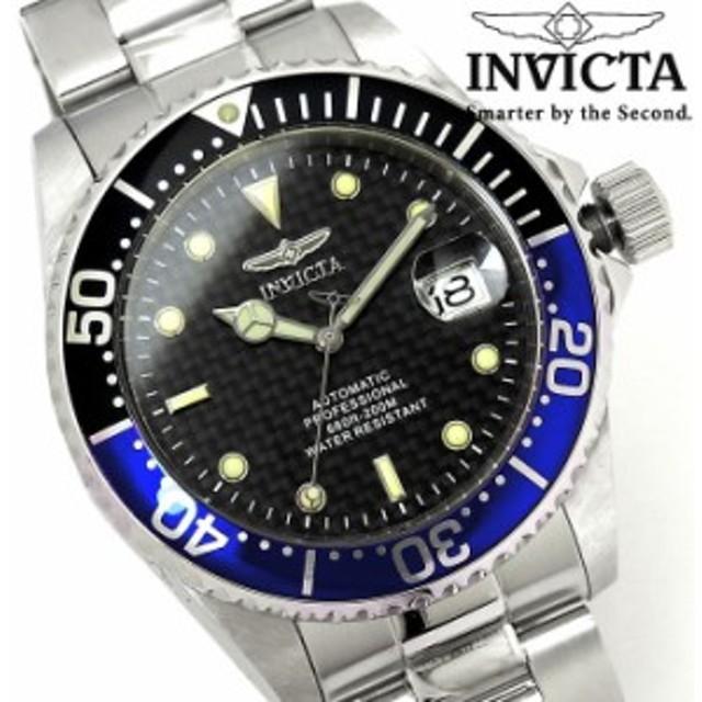 7ed79cc436 【送料無料】メンズ腕時計 INVICTA インビクタ 自動巻き プロダイバー 15584 腕時計【激安