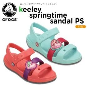 【送料無料対象外】クロックス(crocs)キーリー スプリングタイム サンダル PS(keeley springtime sandal PS)[C/A]