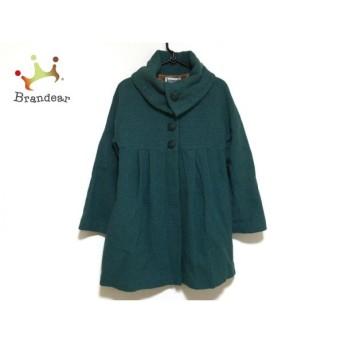 ホコモモラ JOCOMOMOLA コート サイズ40 XL レディース グリーン 冬物 値下げ 20190602