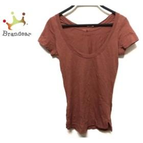 コントワーデコトニエ COMPTOIR DES COTONNIERS 半袖Tシャツ サイズXS レディース ブラウン         スペシャル特価 20190503