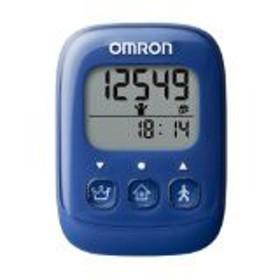 送料無料!オムロン(OMRON) 歩数計 ブルー HJ-325-B