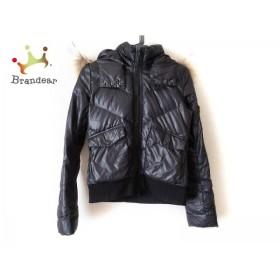 5be7182f67f6 ブラックバイマウジー BLACK by moussy ダウンジャケット サイズ2 M レディース 黒 冬物 値下げ 20190602