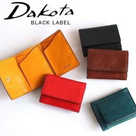 【Wプレゼント付】ダコタ Dakota ブラックレーベル BLACK LABEL 三つ折り財布 625800 プレゼント 女性 男性