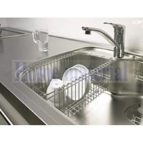 送料無料 EIDAI キッチン Dシンクオプションパーツ水切りカゴ CKP-MKD2
