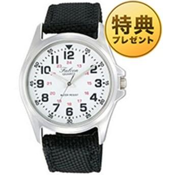 シチズン キュー&キュー CITIZEN Q&Q ホワイト メンズ 腕時計 VW86-850