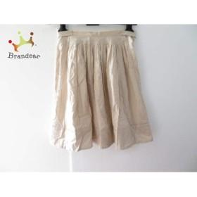 ダブルスタンダードクロージング スカート レディース 美品 ベージュ 刺繍           スペシャル特価 20190406