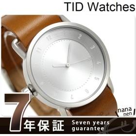 TID watches ティッドウォッチ 時計 40mm No.1 レザー TID01-SV/T