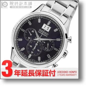 【ゾロ目の日クーポン対象店】 セイコー 逆輸入モデル クロノグラフ  SEIKO CHRONOGRAPH   メンズ 腕時計 SPC081P1