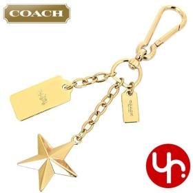 9d322f51bace コーチ COACH アクセサリー キーホルダー F63988 ゴールド スター & ハングタグ バッグ チャーム キーリング アウトレット レディース