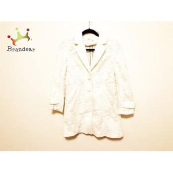 ミニマム MINIMUM コート サイズ2 M レディース 美品 白 レース/冬物 スペシャル特価 20190307